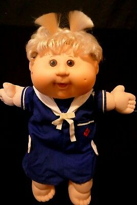 Cabbage Patch Doll with CPK Sailor Suit - Blonde