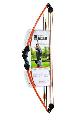 (Orange) - Bear Archery Scout Youth Compound Bow Set. Shipping is Free