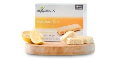 Isagenix Lemon Passion Isalean Bars X 6
