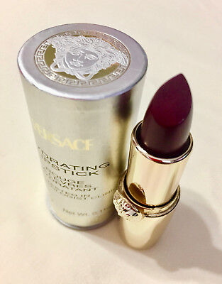 Gianni Versace Hydrating Lipstick - Plum/Burgundy - Luxurious/ New In Box V20011