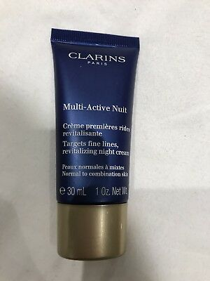 clarins multi active night cream 30ml new And Sealed