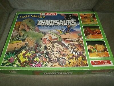 LOST VALLEY OF THE DINOSAURS GAME ~ VINTAGE RETRO 1980's
