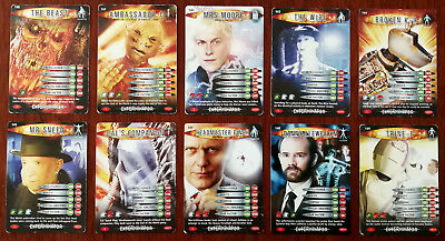 Doctor Who Battles In Time 10 x Trading Cards (140 - 149)
