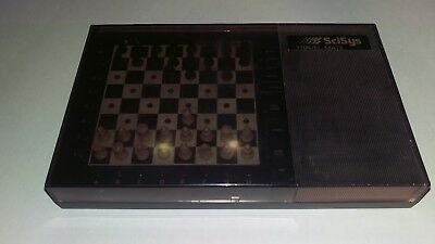 Scisys computer chess travel mate game 1983