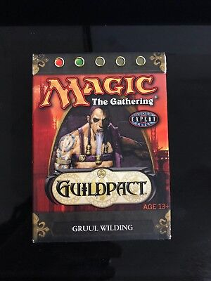NEW & SEALED Magic: The Gathering Guildpact - Gruul Wilding Theme Deck MTG