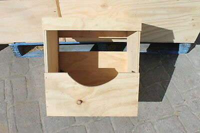 Poultry Nesting Boxes. Chicken Laying Boxes. Single