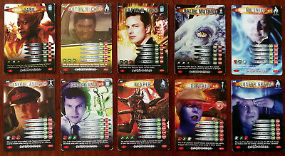 Doctor Who Battles In Time 10 x Trading Cards (040 - 049)