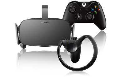 Oculus Rift CV1 PLUS 2 x Sensors, 2 x Touch Controller, Xbox Cntlr, and More!