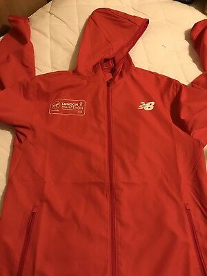 NEW BALANCE - LONDON MARATHON 2018 OFFICIAL RUNNING JACKET Small LIMITED EDITION