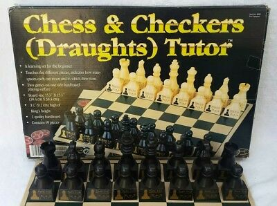 Chess TUTOR Set + Board, Learn how to play Chess, Board game