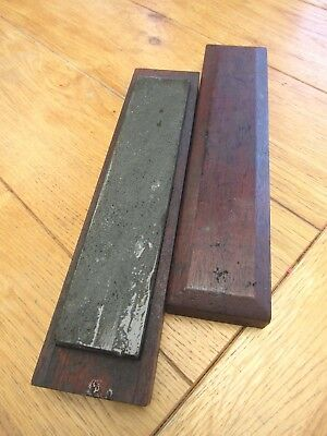 "Vintage Llyn Idwal Sharpening Stone - For Honing Tools and Razors 8"" X 1 3/4"""