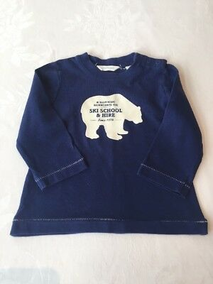 Country Road Boys Long Sleeve Tshirt Size 3-6 Months
