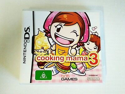 Cooking Mama 3 (Nintendo DS, 2DS, 3DS)