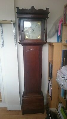 antique Georgian 30 hour grandfather clock