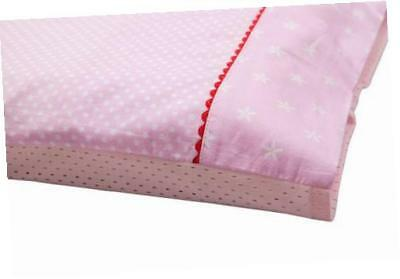 Clevamama Replacement 100% Soft Cotton Airtech Baby Pillow Case (Pink)