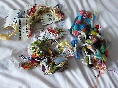 Large Mixed Lot Of Embroidery Thread