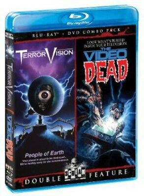 TerrorVision/The Video Dead [2 Discs] [DVD/Blu-ray] (Blu-ray Used Like New)