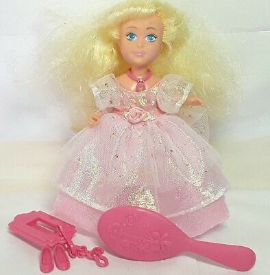 Coleco Doll Princess Magic Touch toy figure Blonde hair Vintage 1980s Small