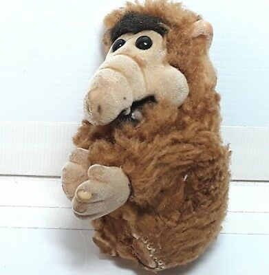 Alf plush soft toy doll figure Clip Hugger Vintage 1980s Small Flawed