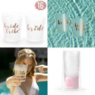 rose gold bachelorette party bride tribe bridal shower cups w2 special cup 16