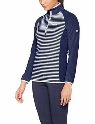 Craghoppers Women Tille Half Zip Fleece - Night Blue Combo, 12