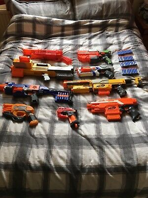 nerf gun bundle With Bullets