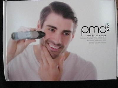 PMD MAN Personal MicroDerm Microdermabrasion System Kit ~ BLACK #1004