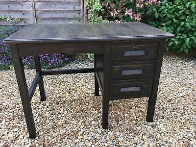 Antique Vintage Cookes Of Finsbury Office Writing Desk - Small, Compact