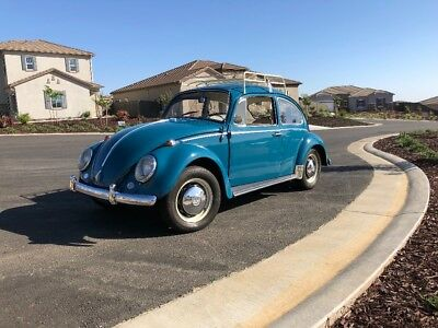 1966 Volkswagen Beetle - Classic Coupe 1966 VW Bug completely restored