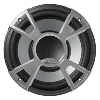 Clarion CMQ2512W 10 4-OHM High Performance Water Resistant Subwoofer 400W