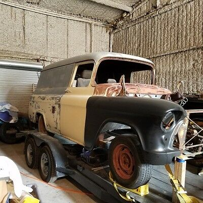1955 Chevrolet Other Pickups  1955 Chevy Panel Truck 1955 1956 1957 1958 1959 55 56 57 58 59