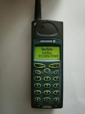 Ericsson A1018s vintage mobile cell phone