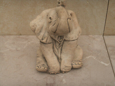 New  Big Elephant Latex Rubber Mould Only.