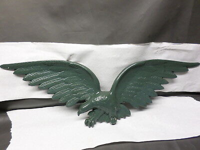 """Vintage Sexton Metal Eagle  27 3/4 """"  U.s.a. - Wall Hanging Plaque - Green"""