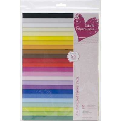 Papermania Paper Pack A4 48/Pkg Coloured 499991437245