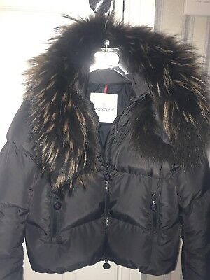 9aaa596a1 GIRLS MONCLER COAT - £75.00 | PicClick UK