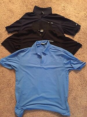 Nike Mens Polo's Lot of 3 Dri-FIT (no reserve)