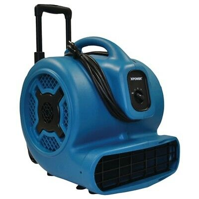 XPOWER X-830H X-830H 1hp 3,600cfm 3-Speed Commercial Air Mover/Carpet Dryer/Floo