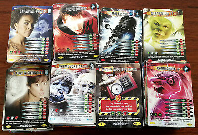 40 Doctor Who Battles In Time Trading Cards.