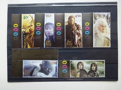 New Zealand Neuseeland, Mi.Nr. 2130-2135, Film Lord of the RIngs, 2003, ** mnh