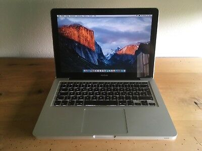 "Apple MacBook A1278 13"" Laptop - MB467D/A (late 2008) 4GB RAM 320GB HD OVP"