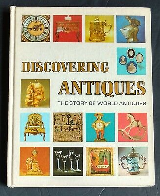 1972 Discovering Antiques Book