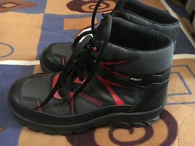 DURAMAX SAFETY SHOES composite toe Size 8.5