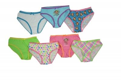 Girls New Panties Underwear for Kids 5 Pairs Cute Assorted Graphics Patterns SML