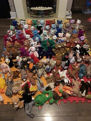 ty beanie babies bundle 100+ Some Rare