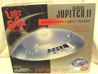 New! JUPITER 2 LOST IN SPACE TV SERIES SEALED LIGHTS & SOUND TRENDMASTERS 1998