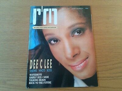 1985 RECORD MIRROR 7th Dec Dee C Lee, Simply Red, Talking Heads, Sade, Waterboys