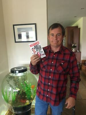 John McGuinness `Built For Speed`...NEW...***Paperback Edition (signed copy)***