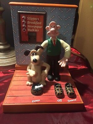 1995 Wallace and Gromit Wesco Talking Clock