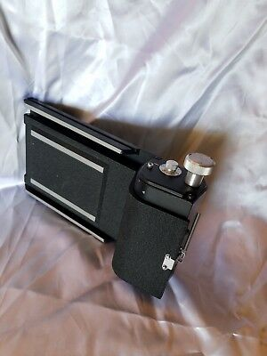 Calumet C2 6x7 roll film holder for 4x5 cameras Excellent Condition